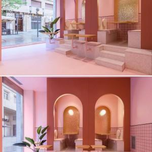 تصویر - طراحی داخلی رستورانی  در ایتالیا ،با الهام از فضای استخر - معماری