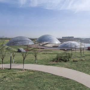 تصویر - باغ گیاه شناسی Taiyuan ، اثر تیم طراحی معماری Delugan Meiss ، چین - معماری