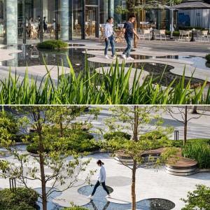 تصویر - تبدیل یک پارکینگ متروکه به پارک عمومی در Chengdu چین - معماری