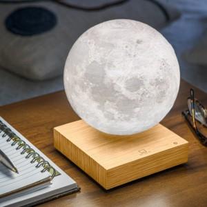 تصویر - لامپ هوشمند به شکل ماه، کاری از استودیو طراحی Gingko - معماری
