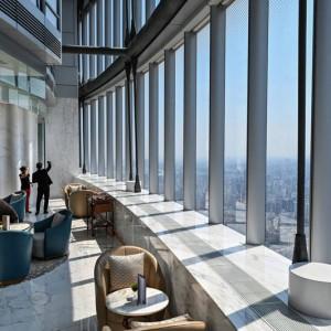 تصویر - افتتاح مرتفعترین هتل جهان در شانگهای چین ؛ ۶۰۰ متر بالاتر از زمین - معماری