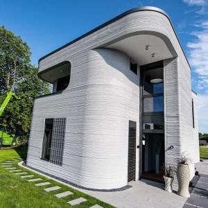 عکس - ساخت اولین خانه در آلمان با استفاده از چاپگر سهبعدی