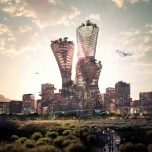 تصویر - طراحی پایدارترین شهر جهان در آمریکا - معماری