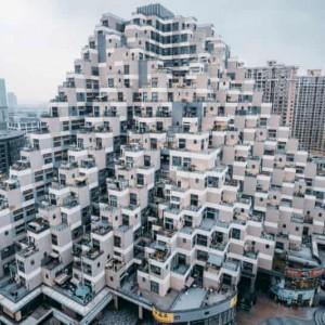 تصویر -  رقابت زشتترین ساختمانهای چین برای ورود به تالار بدنامها - معماری