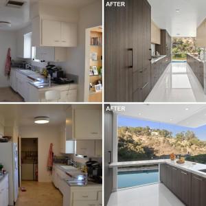 عکس - قبل و بعد بازسازی آشپزخانه ای در کالیفرنیا