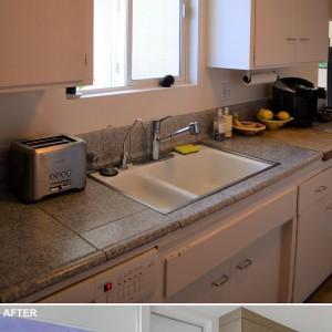 تصویر - قبل و بعد بازسازی آشپزخانه ای در کالیفرنیا - معماری