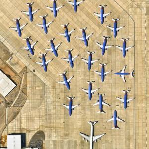تصویر - فراتر از مقیاس:دید به فرودگاهها از بالا - معماری