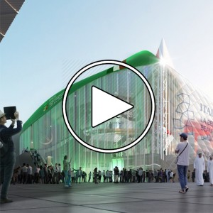 تصویر - پاویون ایتالیا ( Italy Pavilion) در اکسپو 2020 دبی - معماری