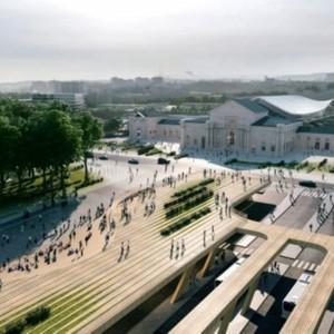 تصویر - مدرنسازی ایستگاه راهآهن ویلنیوس ، اثر معماران زاها حدید - معماری