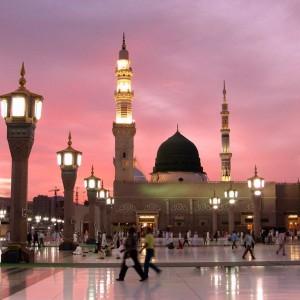 عکس - معماری مسجد النبی در گذر زمان