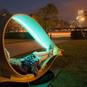 عکس - ایستگاه های شارژ خورشیدی The SOFT Rockers , اثر دانشجویان معماری مرکزMIT