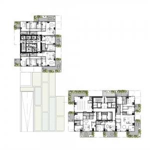 تصویر - برج های Bosco Verticale , اثر استودیو طراحی Boeri Studio , ایتالیا - معماری