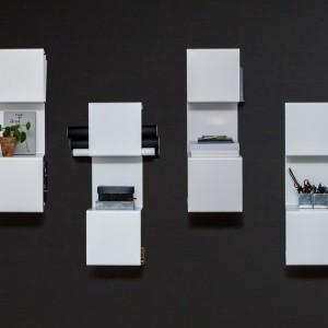 تصویر - طبقات دیواری کتاب (Wall-mounted bookcase) , اثر تیم طراحی Linde و Sandstrom - معماری