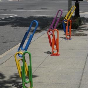 تصویر - ایده های خلاقانه در طراحی مبلمان شهری - ایستگاه دوچرخه - معماری