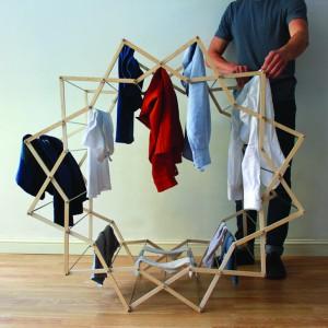 تصویر - رخت آویز (CLOTHES HORSE) خلاقانه Jigsaw ، اثر آرون دونكرتون (Aaron Dunkerton) - معماری