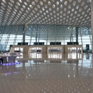 تصویر - فرودگاه بین المللی Shenzhen Bao'an ، اثر استودیو طراحی Studio Fuksas ، چین - معماری