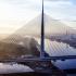 عکس - پل کابلی عظیم Ada , اثر تیم طراحی معماری Arhitektura d.o.o , صربستان