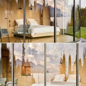 تصویر - اقامتگاه LumiPod 6 , با بازشو پانوراما ، اثر شرکت فرانسوی Lumicene - معماری