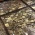 عکس - ایده پردازی طراحی کف شیشه ای با استفاده از تکه های شکسته آینه ،اثر Gisele Taranto