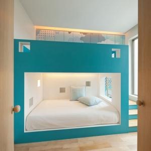 تصویر - ایده هایی برای تختخواب های چندطبقه - معماری