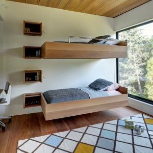 عکس - ایده هایی برای تختخواب های چندطبقه