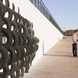 تصویر - خلق اثری هنری با لاستیکهای قدیمی - معماری