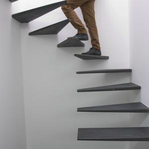 تصویر - 12 نمونه عالی از پله های بدون نرده - معماری