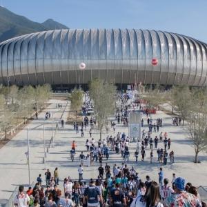 عکس - استادیوم BBVA BANCOMER اثر Populous،مکزیک