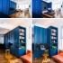 عکس - راه حل سفارشی صرفه جویی درفضا برای آپارتمانی کوچک در نیویورک