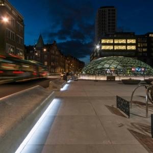 تصویر - پلازای شهری Konsthall اثر White ، سوئد - معماری