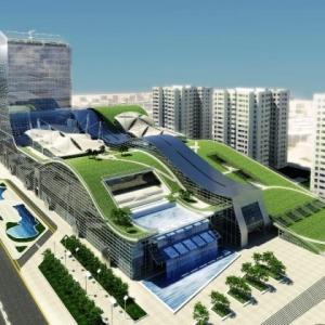 عکس - اولین بام سبز خاورمیانه در تهران ساخته میشود