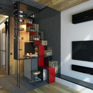 عکس - آپارتمان کوچک 18 متر مربعی،اثر 1-studio