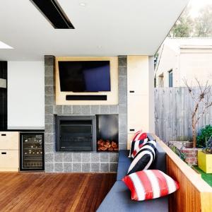 تصویر - فضای استراحت کنار استخر ،طراحی شده برای خانواده ای در استرالیا - معماری