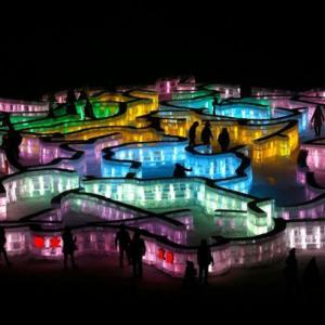 عکس - فستیوال یخ  2015 در چین