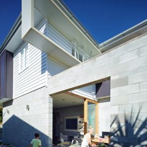 تصویر - خانه ای با تراسی زیبا - معماری