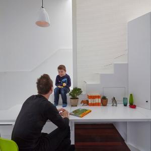 تصویر - خانه ای با فضایی متفاوت برای کودکان - معماری