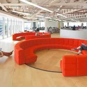 تصویر - دفتر کار UkTV در لندن - معماری