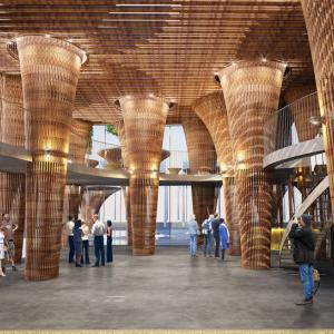 تصویر - پاویون ویتنام در اکسپو میلان 2015 - معماری