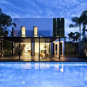 تصویر - ادغام طبیعت و معماری در خانه سبز - معماری