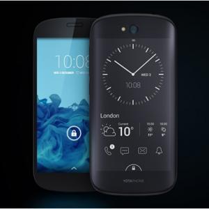 عکس - اولین گوشی هوشمند دنیا با دو صفحه نمایش
