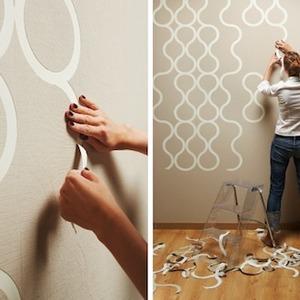 عکس - کاغذ دیواری جداشونده ،کاری از شرکت ZNAK