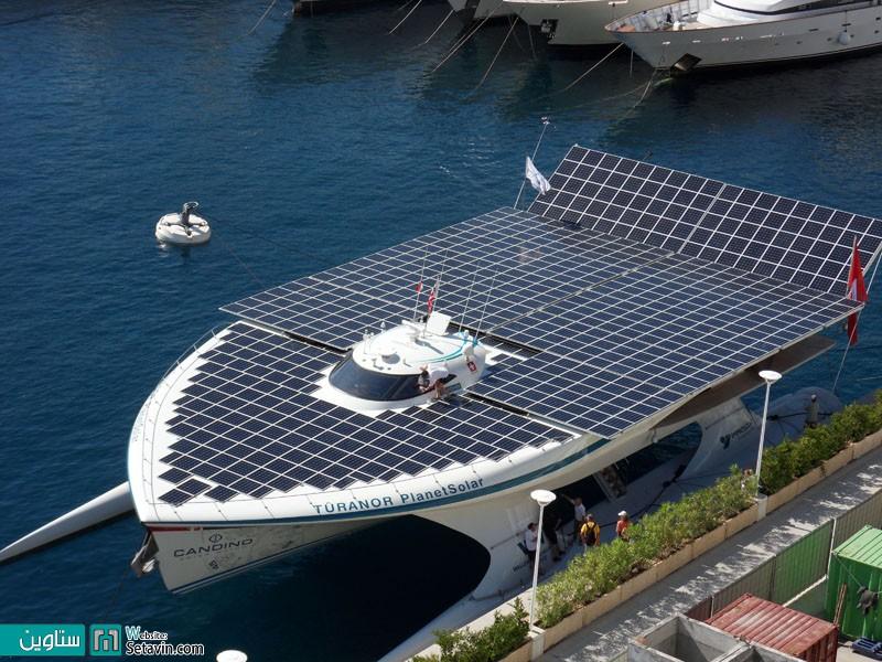 قایق خورشیدی - تکنولوژی